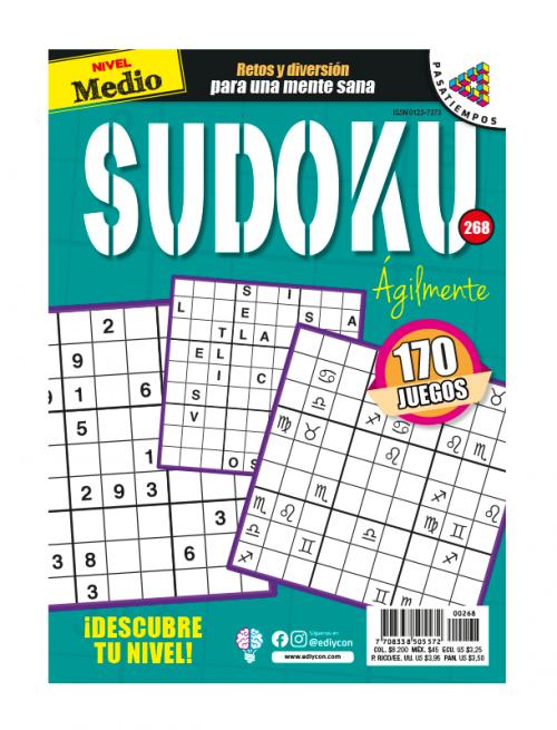 Agilmente medio, sudoku AG268