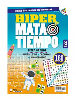 Sopas de letras, juegos de ingenio, crucigramas, Letra grande, HMT221