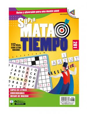Especial palabragramas, SMT 281, sopas de letras, letra grande