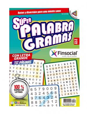 Super Palabragramas 100% sopas de letras