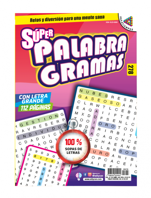 superpalabragramas, sopas de letras