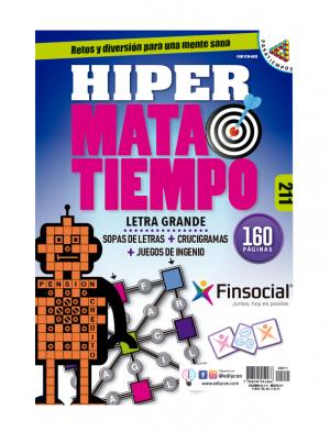 Hipermatatiempo, sopas de letras, crucigramas, juegos de ingenio