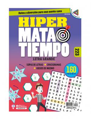 Sopas de letras, juegos de ingenio, crucigramas, Letra grande, HMT223