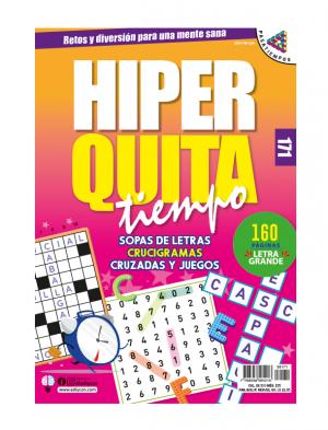 HQT sopas de letras, crucigramas, cruzadas y juegos, HQT 171