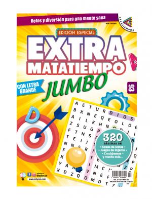 Sopas de letras, Juegos de Ingenio, Crucigramas, Extramatatiempo Jumbo