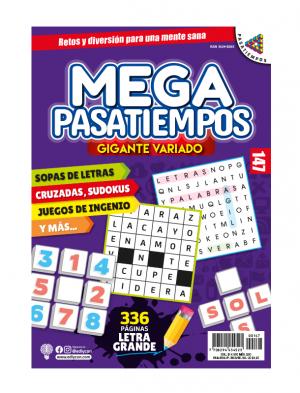 Megapasatiempos, sopas de letras, sudokus, juegos de ingenio