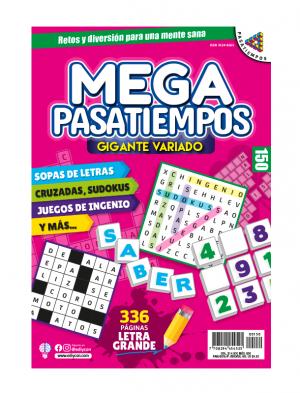 MEGAPASATIEMPOS 150, Megapasatiempos, sopas de letras, sudokus, juegos de ingenio