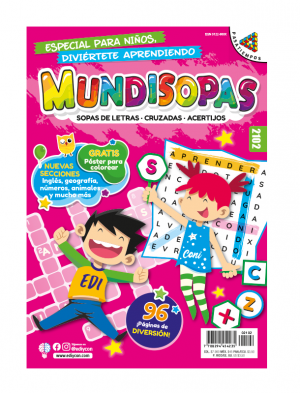 Pasatiempos para niños, Mundisopas 2102